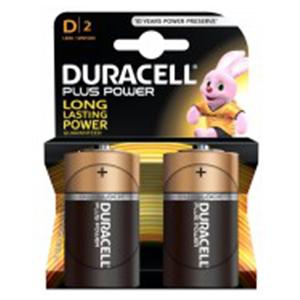 Duracell Pluspower D2 1pcs