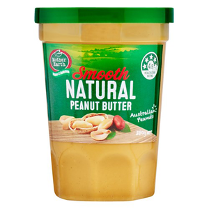 Mother Earth Peanut Butter Natural 380g