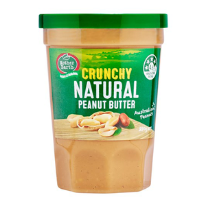 Mother Earth Peanut Butter Crunchy Natural 380g