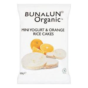 Bunalun Organic Rice Cake Yoghurt Mini 60g