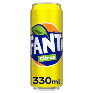Fanta Citrus Can 330ml