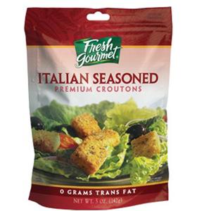 Fresh Gourmet Croutons Italian Seasoned 142gm