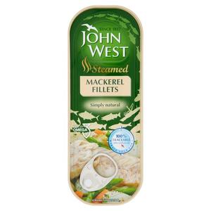 John West Steam Mack Fillet Oil 110 gm