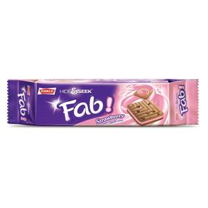 Parle Biscuit Hide&Seek Fab Strawberry 112gm