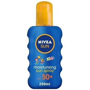Nivea Sun Kids Moisturizing Spray UVA & UVB Protection SPF 50+ 200ml