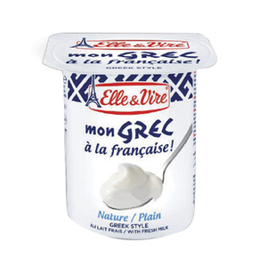 Elle & Vire Greek Yogurt Plain 125g