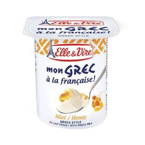 Elle & Vire Greek Yogurt Honey 125g