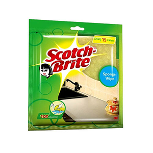 Scotch Brite Sponge Cloth Natural 3pc