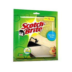 Scotch Brite Sponge Cloth Natural 3pc