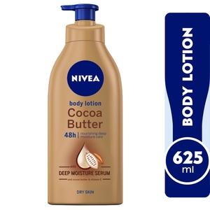 Nivea Cocoa Butter Body Lotion With Vitamin E Dry Skin 625ml