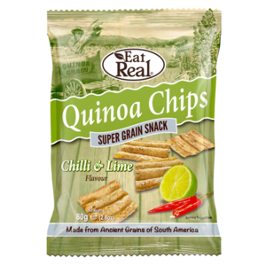 Eat Real Quinoa Chips Chilli And Lime 30g