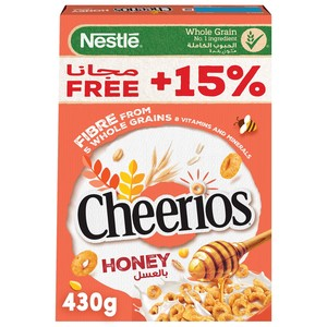 Honey Cheerios Breakfast Cereal 430g