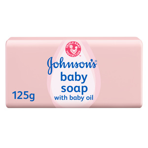 Johnson's Baby Soap with Baby Oil 125gm