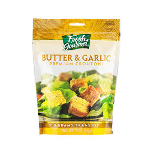Fresh Gourmet Butter & Garlic Crouton 142gm