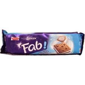 Parle Biscuit Hide&Seek Fab Vanilla 112gm