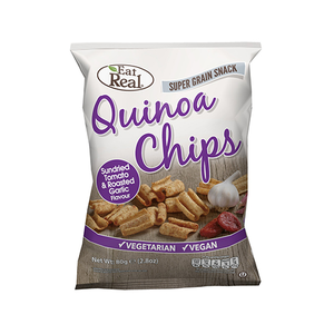 Eat Real Quinoa Chips Tomato And Garlic 30g