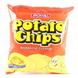 Jack&Jill Potato Bbq Chips 65g