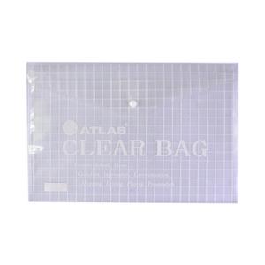 Atlas Document Bag Clear 1pc