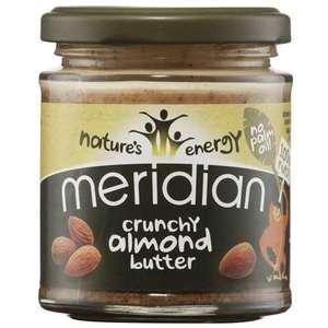 Meridian Organic Crunchy Almond Butter 170g