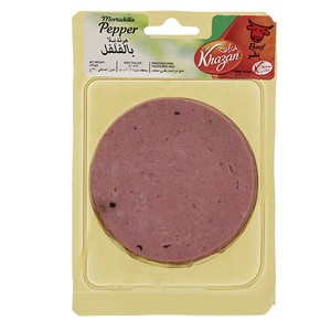 Khazan Sliced Mortadela Pepper 250g
