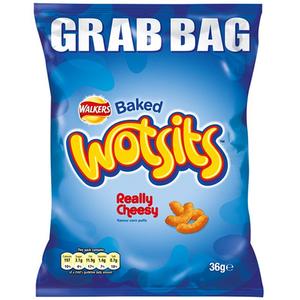 Walkers Wotsts Cheese Grab Bag 36g