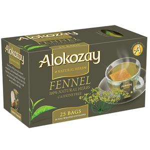 Alokozay Tea Bags Fennel Natural Herb 25s