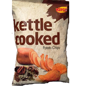 Kitco Kettle Cooked Potato Chips Honey And Bbq 170g