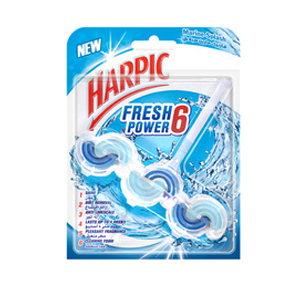Harpic Toilet Block Marine Splash 39g