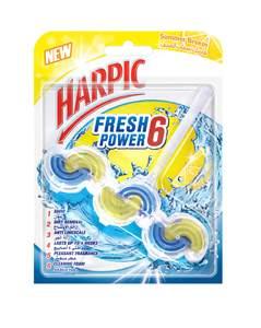 Harpic Fresh Power 6 Summer Breeze Toilet Cleaner 39g