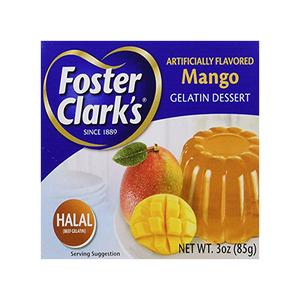Foster Clark Gelatin Dessert Mango 85g
