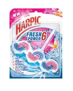 Harpic Fresh Power 6 Tropical Blossom Toilet Cleaner 39g