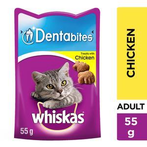 Whiskas Dentabites Chicken Cat Treats 50g