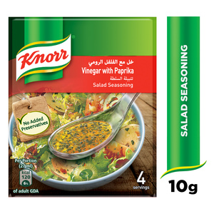 Knorr Salad Mixes Vinegar & Paprika 4 x 10g