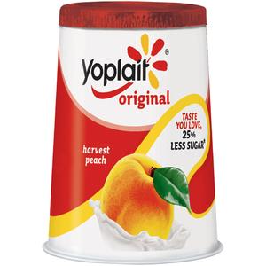 Yoplait Petits Filous Peach 50g