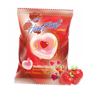 Hartbeat Candy Love&Passion Strawberry 150gm