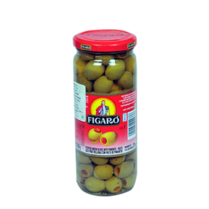 Figaro Stufull Fated Green Olives 270gm