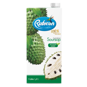 Rubicon Juice Guanabana No Sugar Added 1ltr