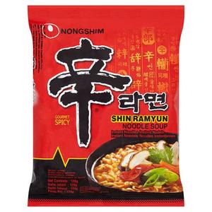 Nongshim Nodls Shin Ramyun 5pack 5x120gm