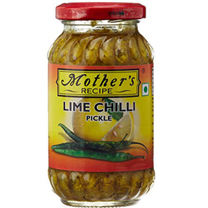 Mother's Recipe Lime & Chilli Pickle 300gm