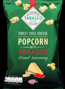 Tabasco Popcorn Sweet Chilli Cheese 90g