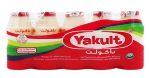 Yakult Drink Non Fat Probiotic 5x80ml