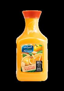 Almarai 100% Orange With Pulp Juice 1.5L