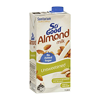 Santrium Gf Unsweetened Almond milk 1 L