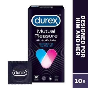 Durex Mutual Pleasure Condom 10pcs