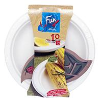 Fun Fibre Plate 10pc