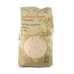 Infinity Foods Organic White Jasmine Rice 500g