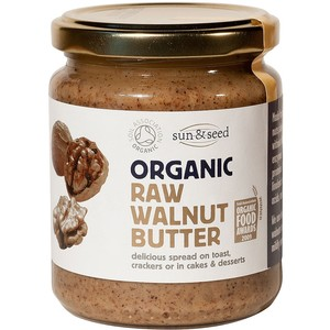 Sun And Seed Organic Raw Walnut Butter 250g