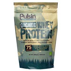 Pulsin Organic Whey Protein 250g
