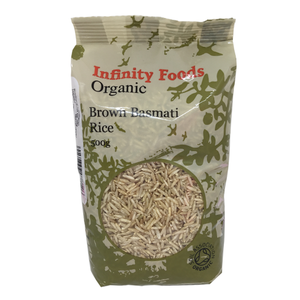 Organic Brown Basmati 500g