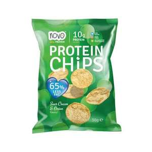 Biorganic Sour Cream N Onion Chips 30g